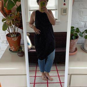 Asymmetrical hem tunic/dress size small